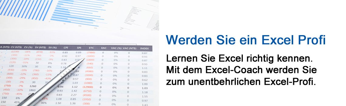 Werden Sie zum unentbehrlichen Excel Profi