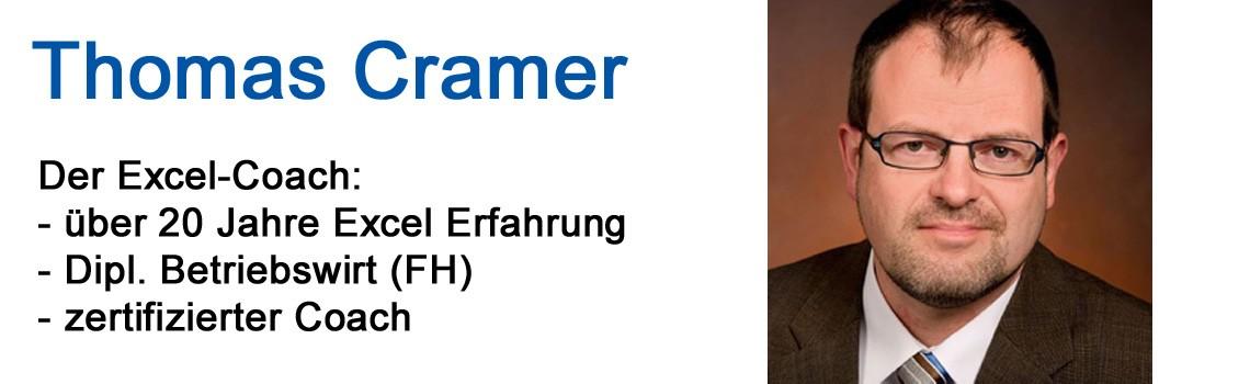 Thomas Cramer: Der Excel-Coach